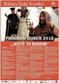 Kláštery ČK - Program na duben 2018