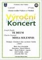 Výroční koncert Chrámového sboru - VELEŠÍN
