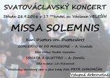 Svatováclavský koncert - Velešín