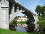 Čapkův most v Doudlebech