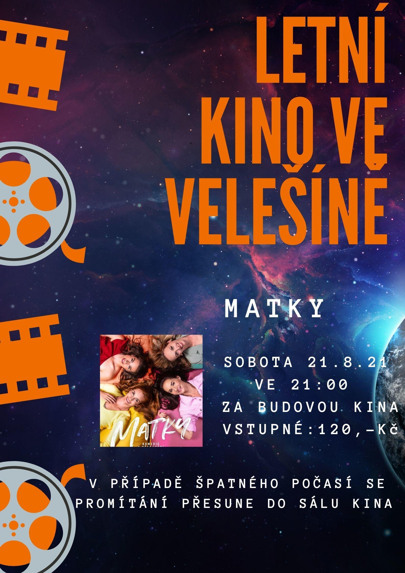 VELEŠÍN - Letní kino