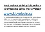Nové webové stránky - KIC VELEŠÍN
