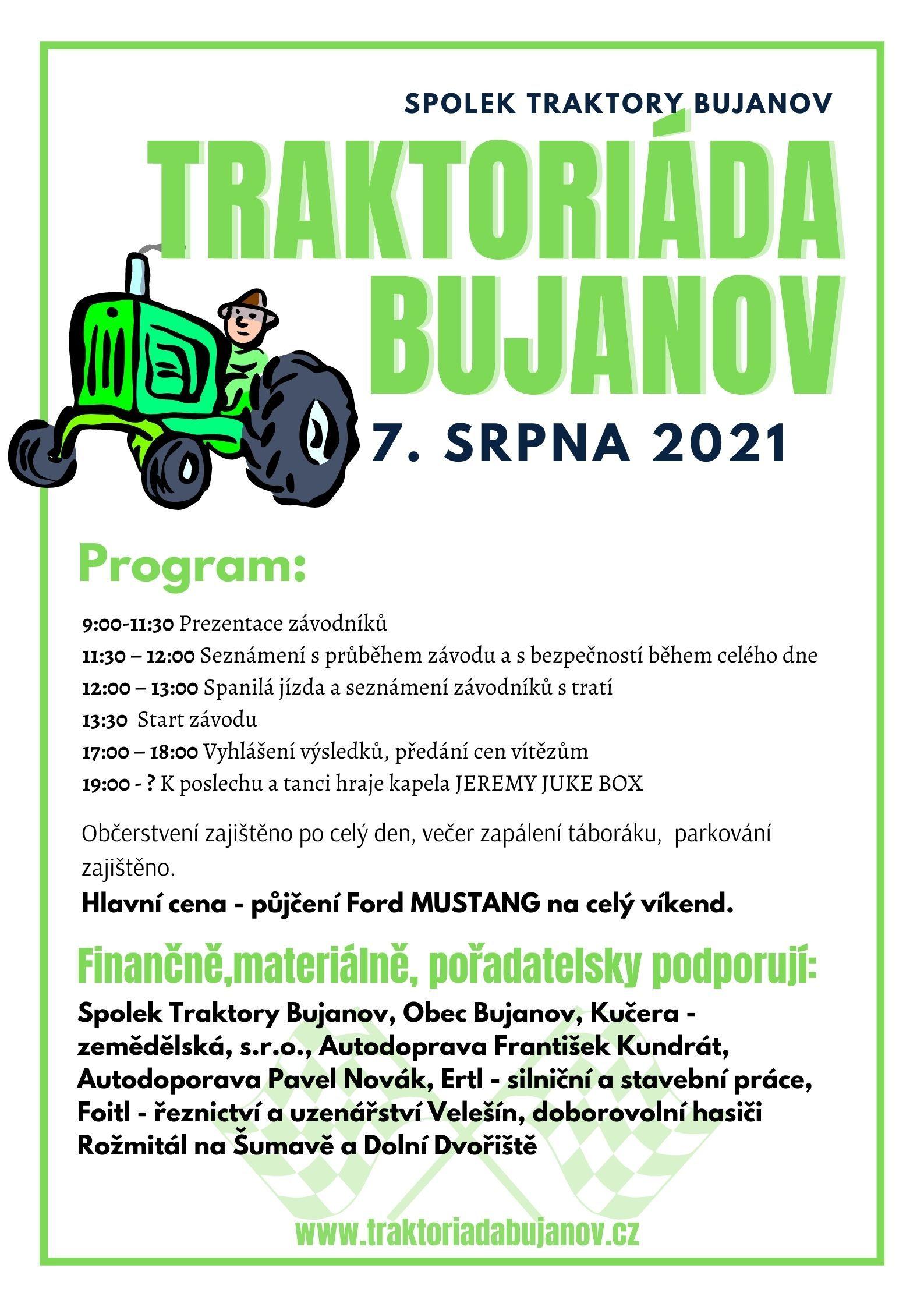 Traktoriáda - BUJANOV